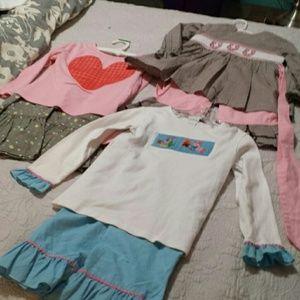 Girls Bundle of Sets Size 4